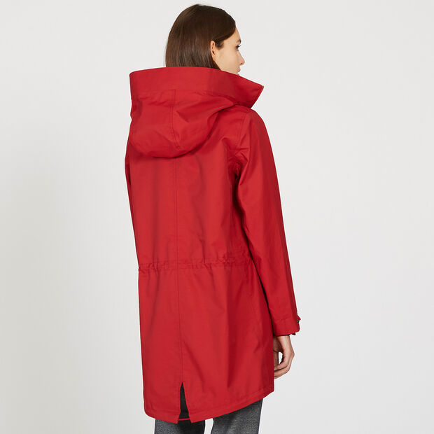 Parka longue contemporaine
