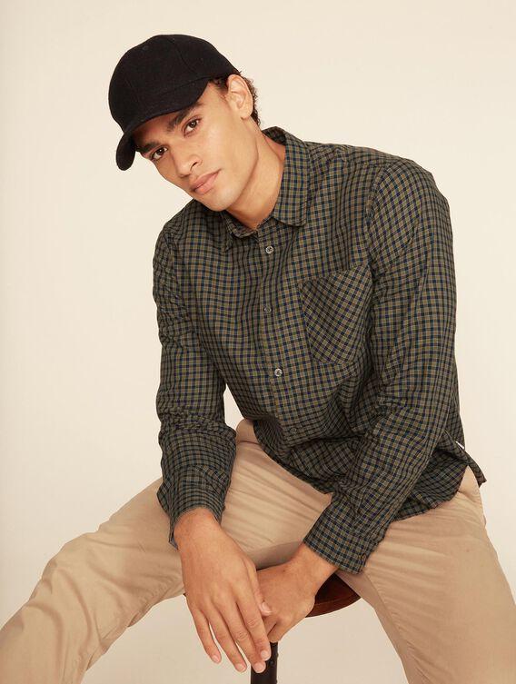 Lightweight check shirt