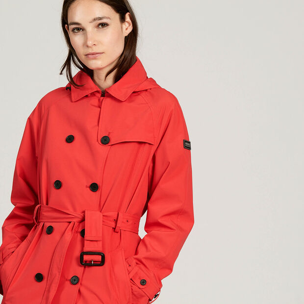 Waterproof and windproof trench coat
