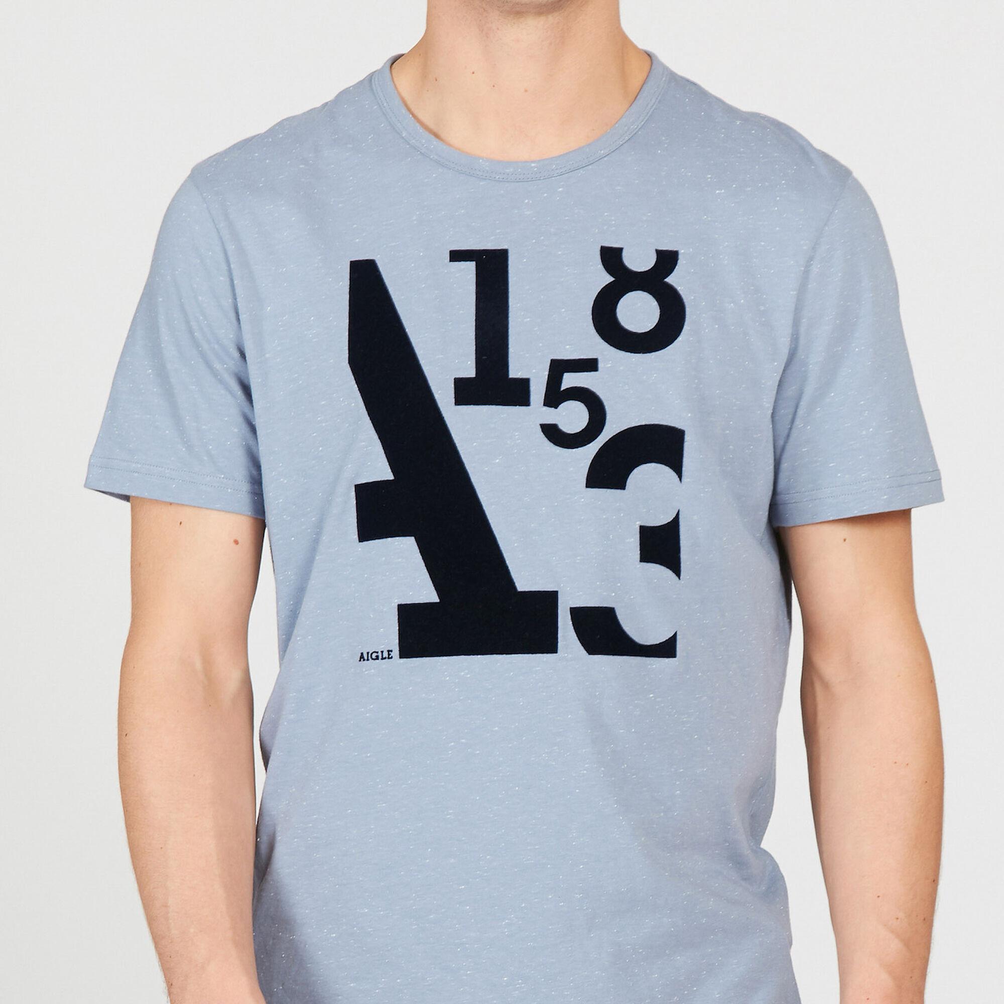 Start Of The Season Screen Print T Shirt Men Aigle