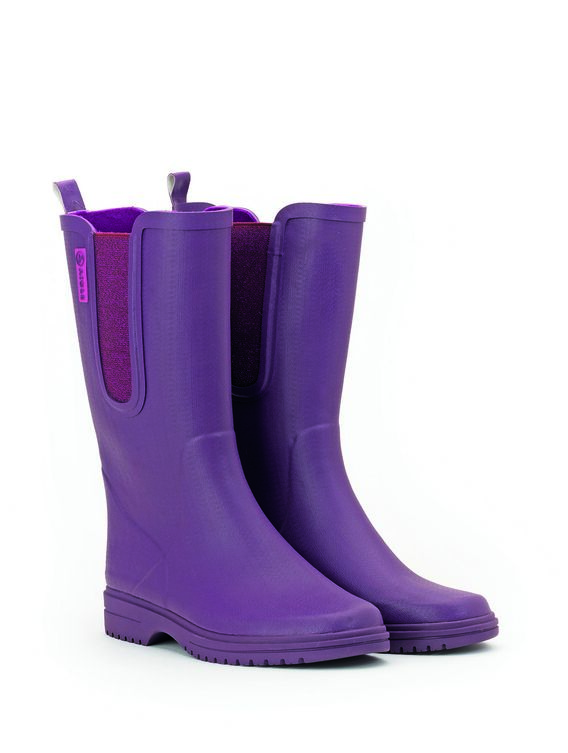 Women's fleece-lined garden boots