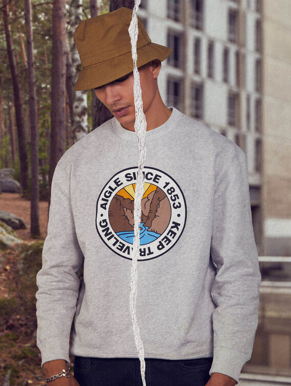 Fleece sweatshirt x Tealer