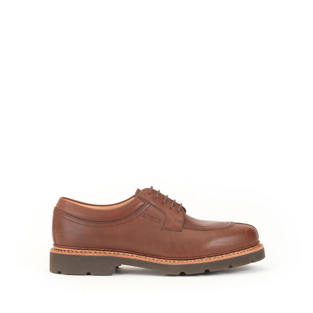 Men's leather post-hunting Derby shoes