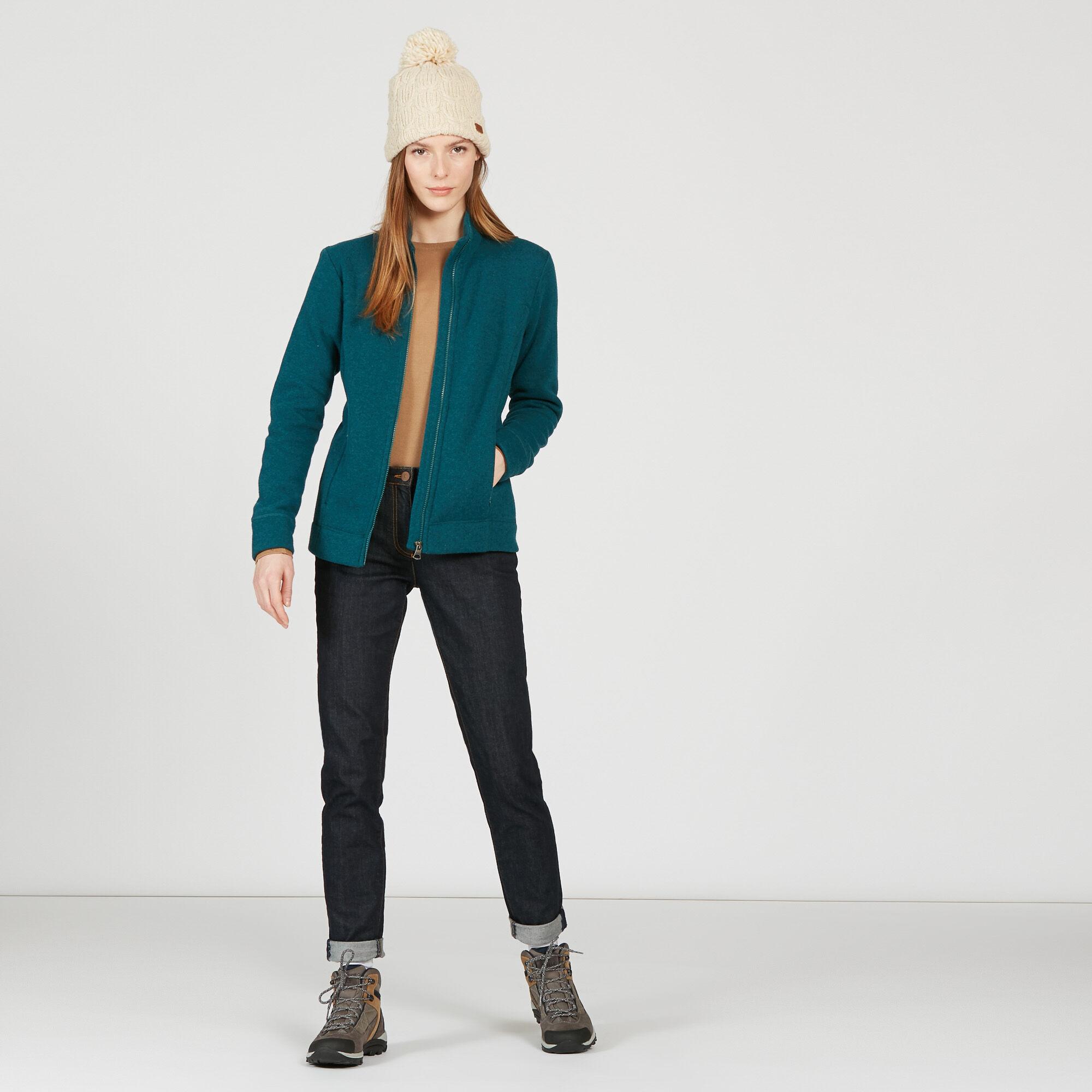 Veste polaire esprit tricot