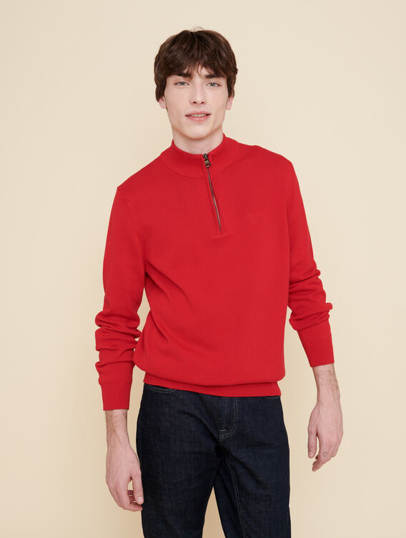 Full-zip jumper