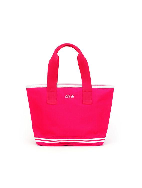 Women's small cotton beach bag