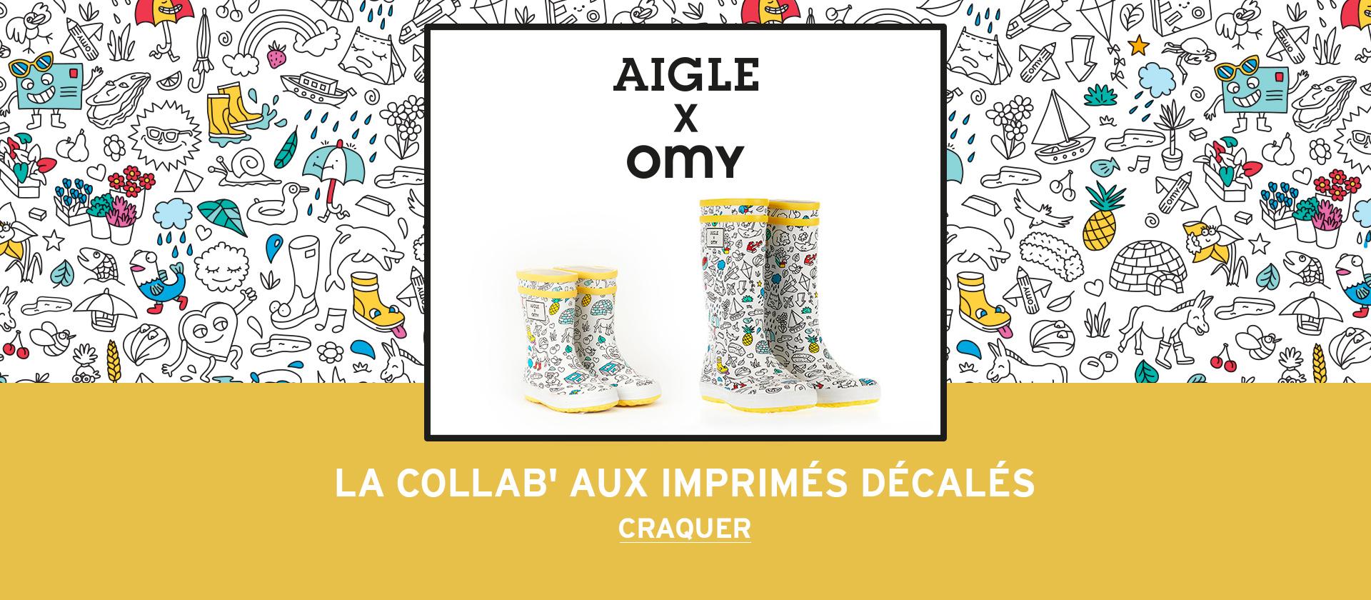 Collaboration Aigle x OMY