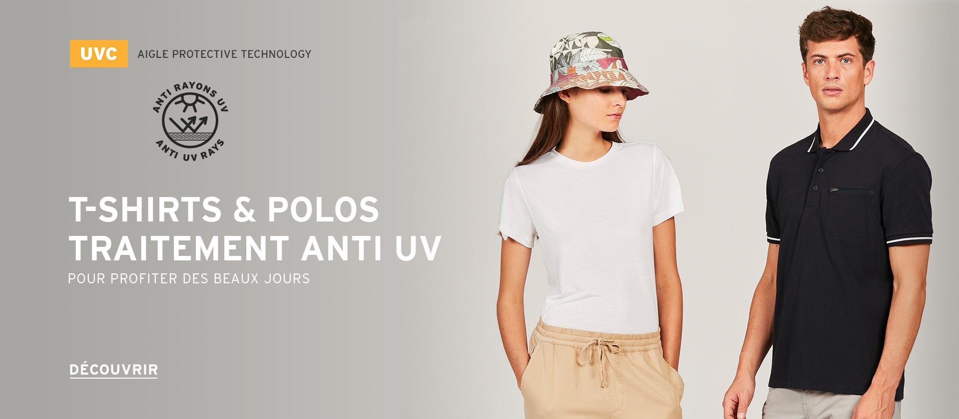 T-shirts & Polos Anti UV