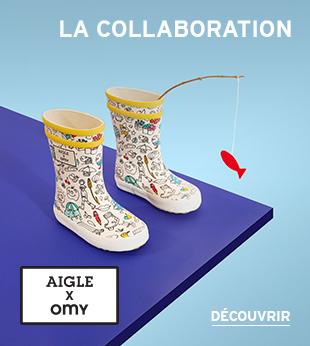 OMY x Aigle : l'imprime exclusif