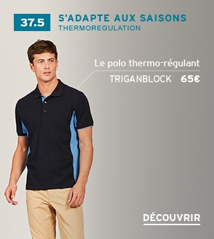 Polo avec thermo-régulation