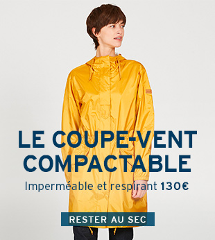 Le coupe-vent compactable