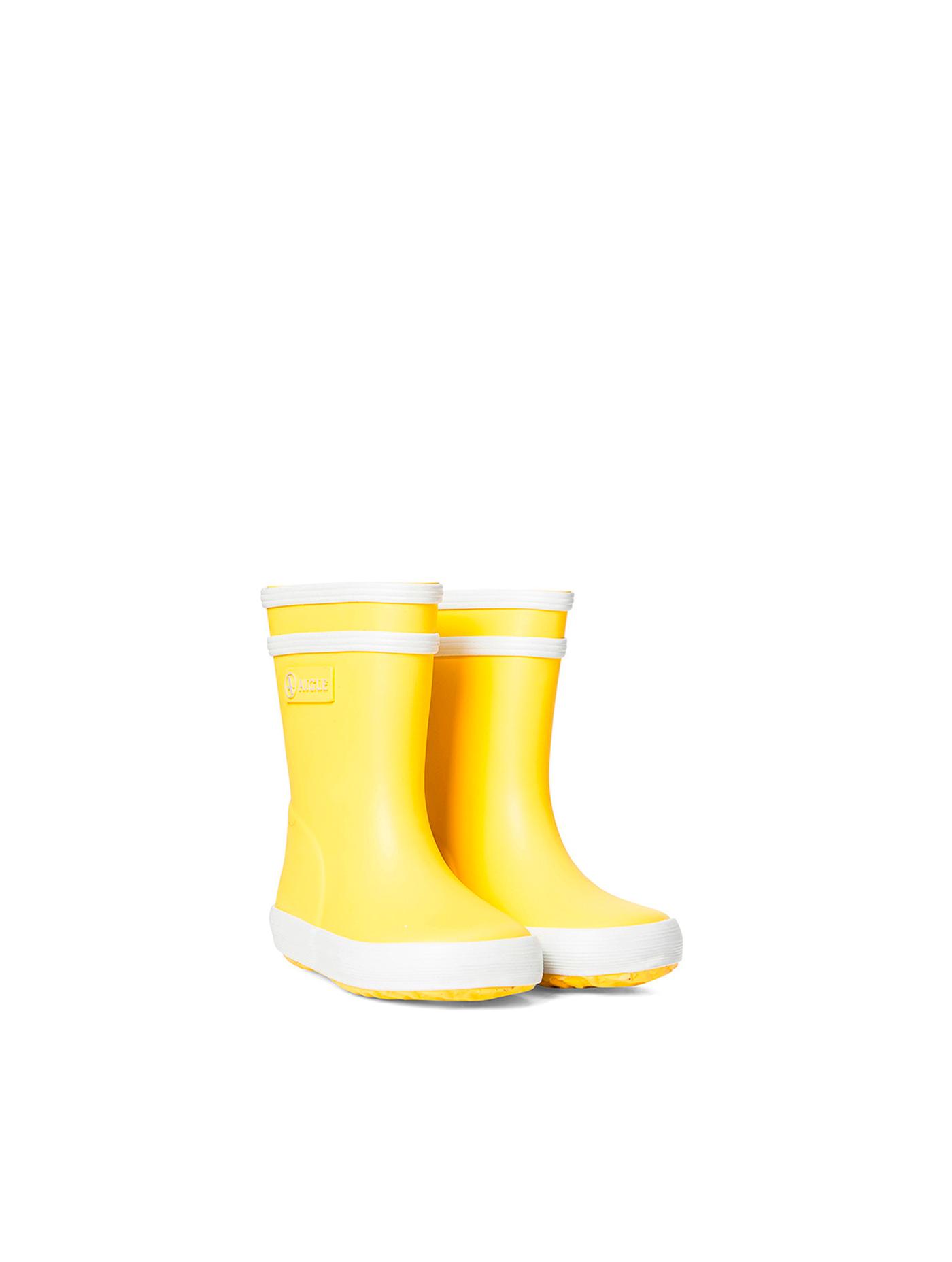 Bottes fourrées de pluie pour les tout petits Baby