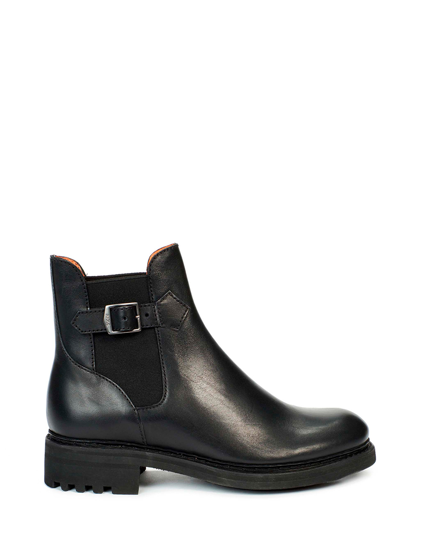 CANTY CHELSEA| Women's leather ankle boots Black