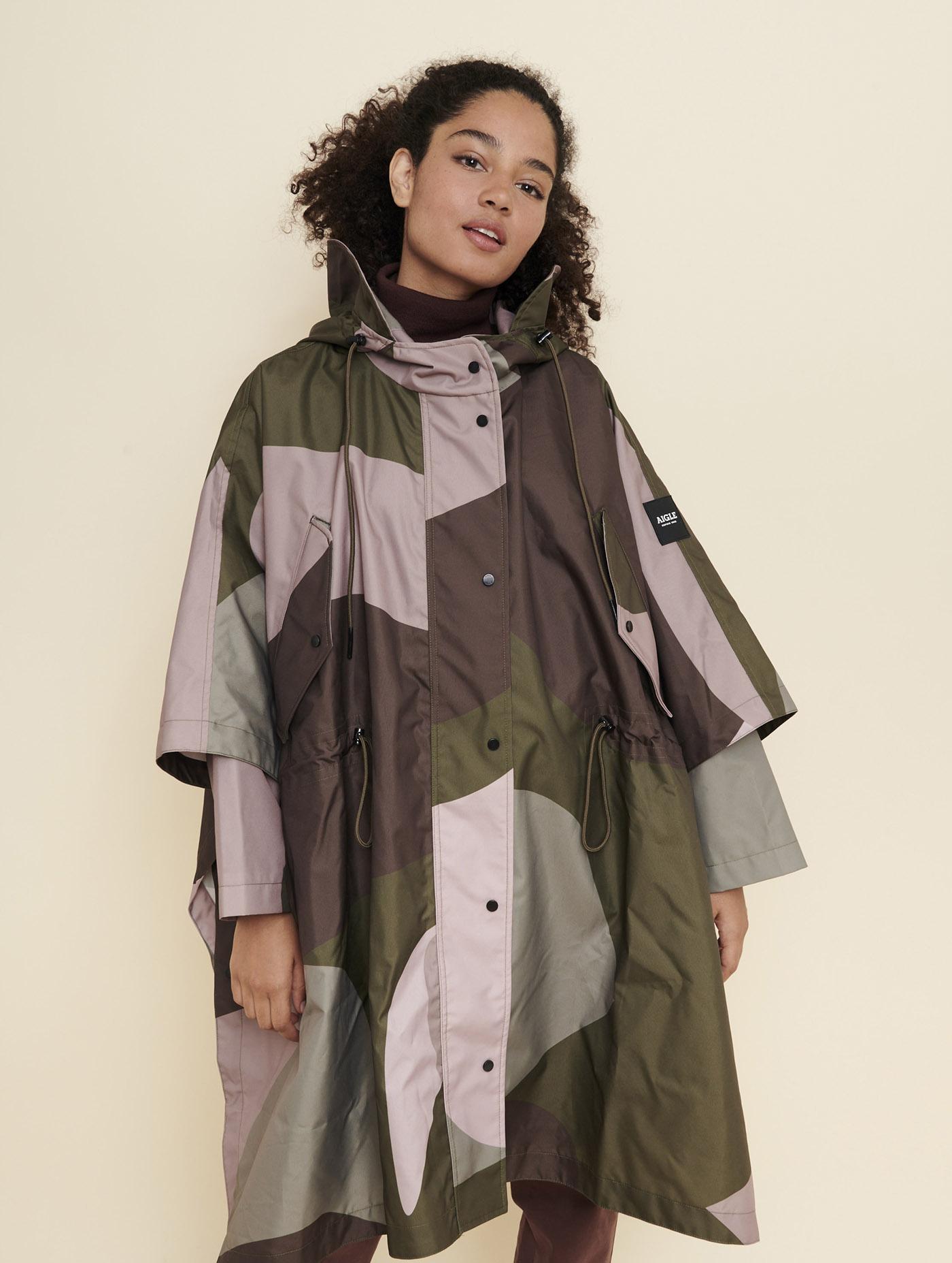 Poncho de pluie coupe-vent Femme - Fatinaifemme | AIGLE