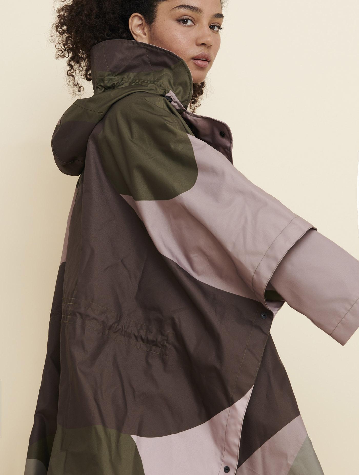 Poncho de pluie coupe-vent Femme - Fatinaifemme   AIGLE