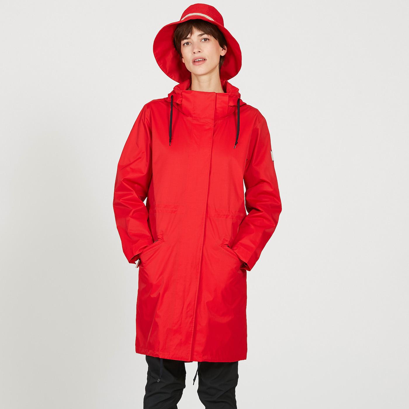 Rain Aigle De Inès La Fressange Coat X Women Aigle 6IXwg