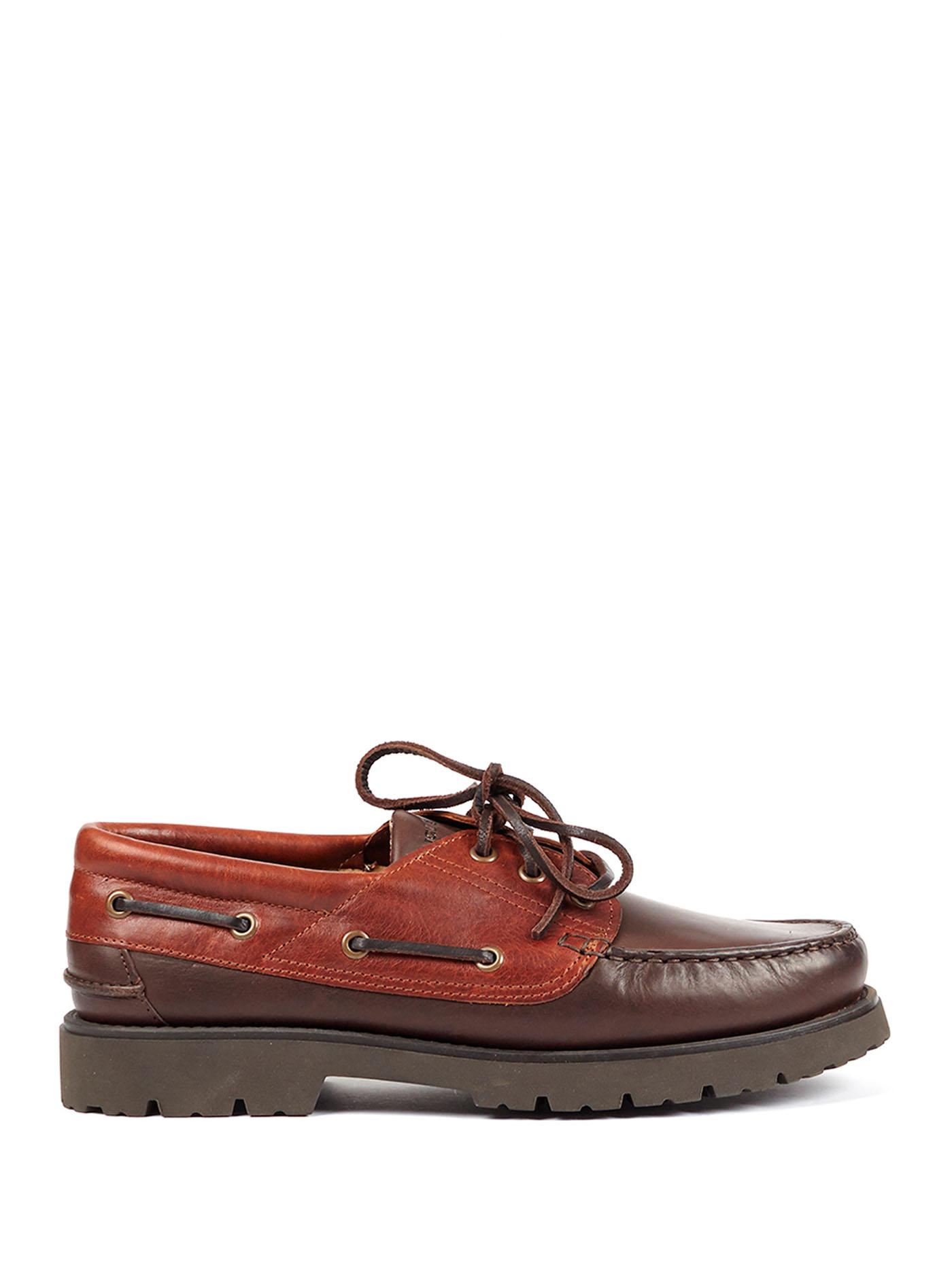 Chaussures bateau pour homme en cuir | Aigle