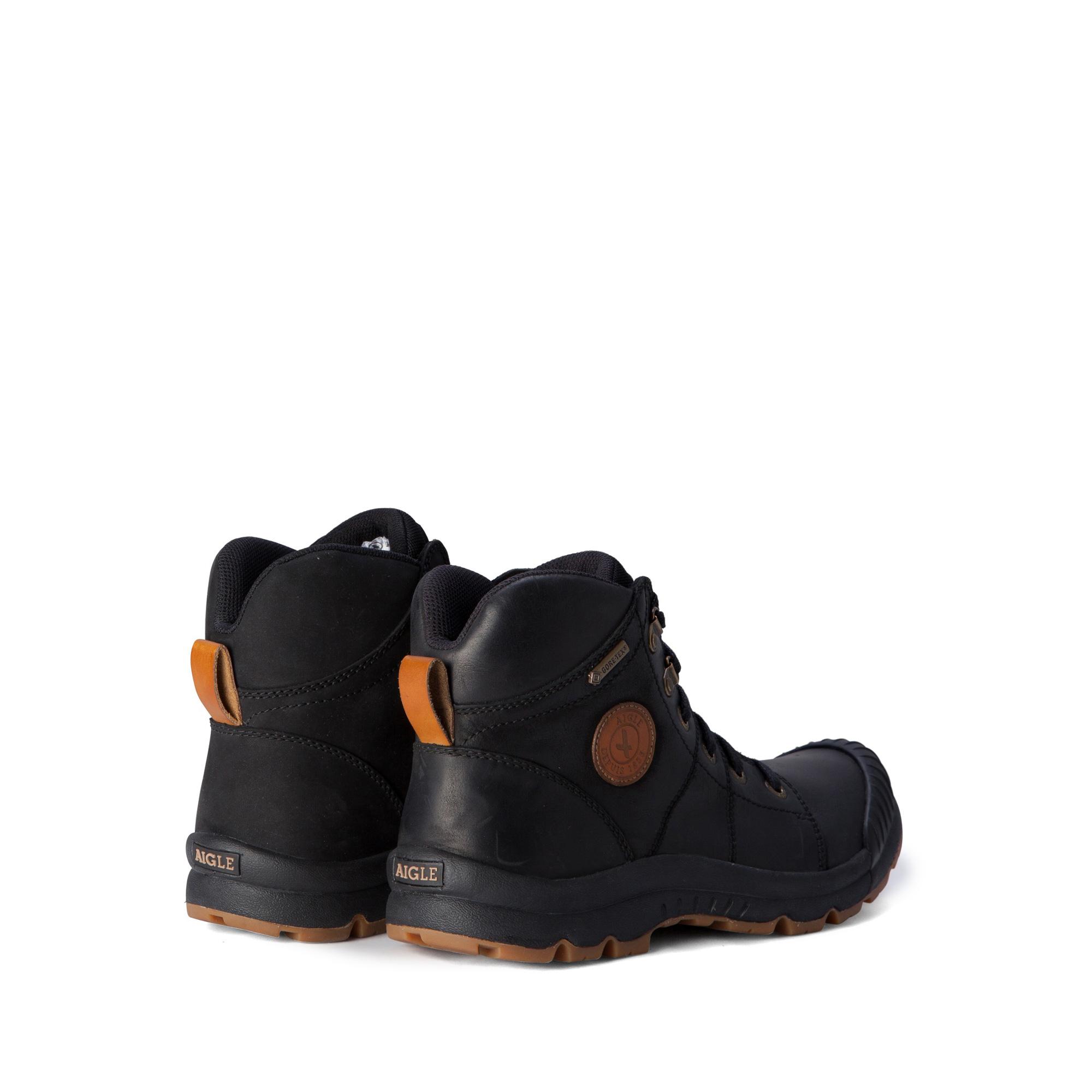 e6b777e5e9f Chaussures de marche imperméables cuir homme