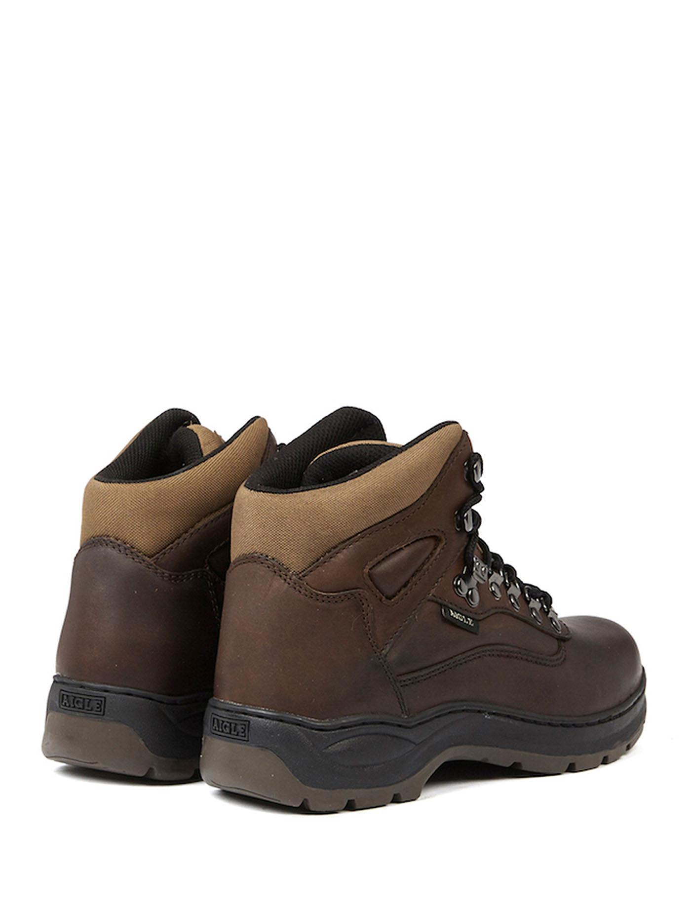 Aigle Chaussure montante en cuir picardie pas cher Achat