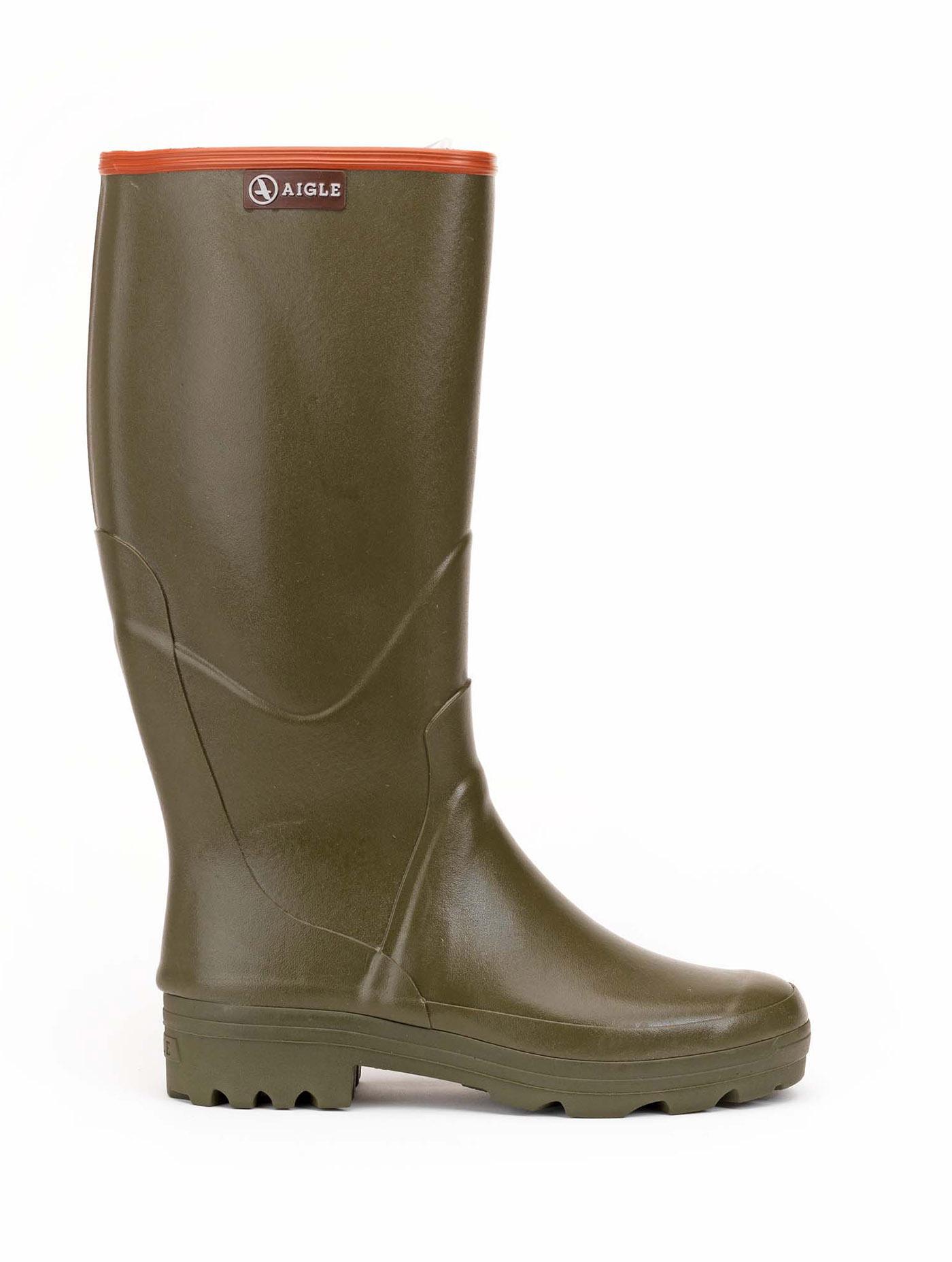 CHAMBORD PRO | Men's all terrain rubber boots Kaki
