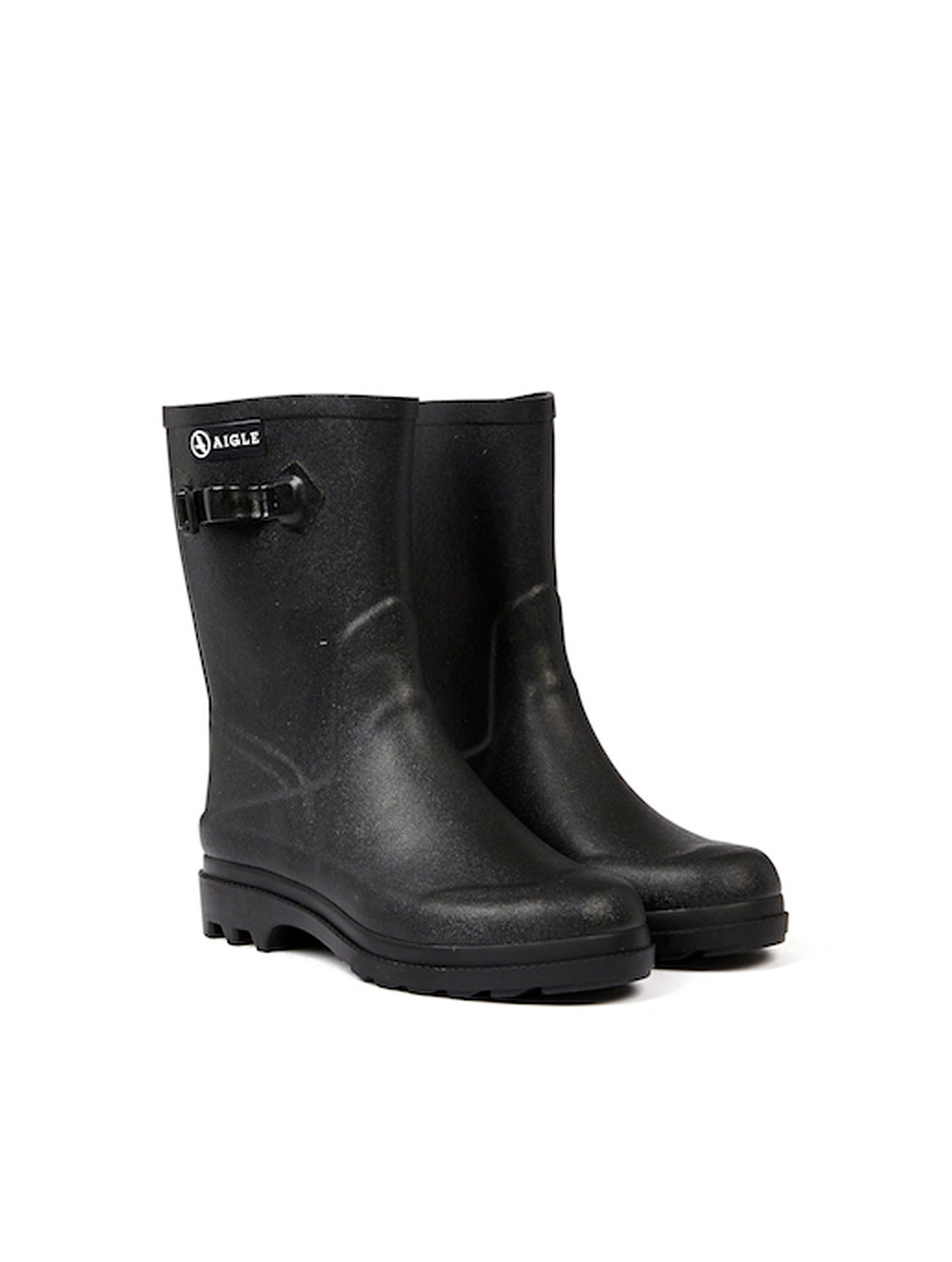 2e0311b375f ICARE | Men's rubber ankle boots Noir | Aiglemen | AIGLE
