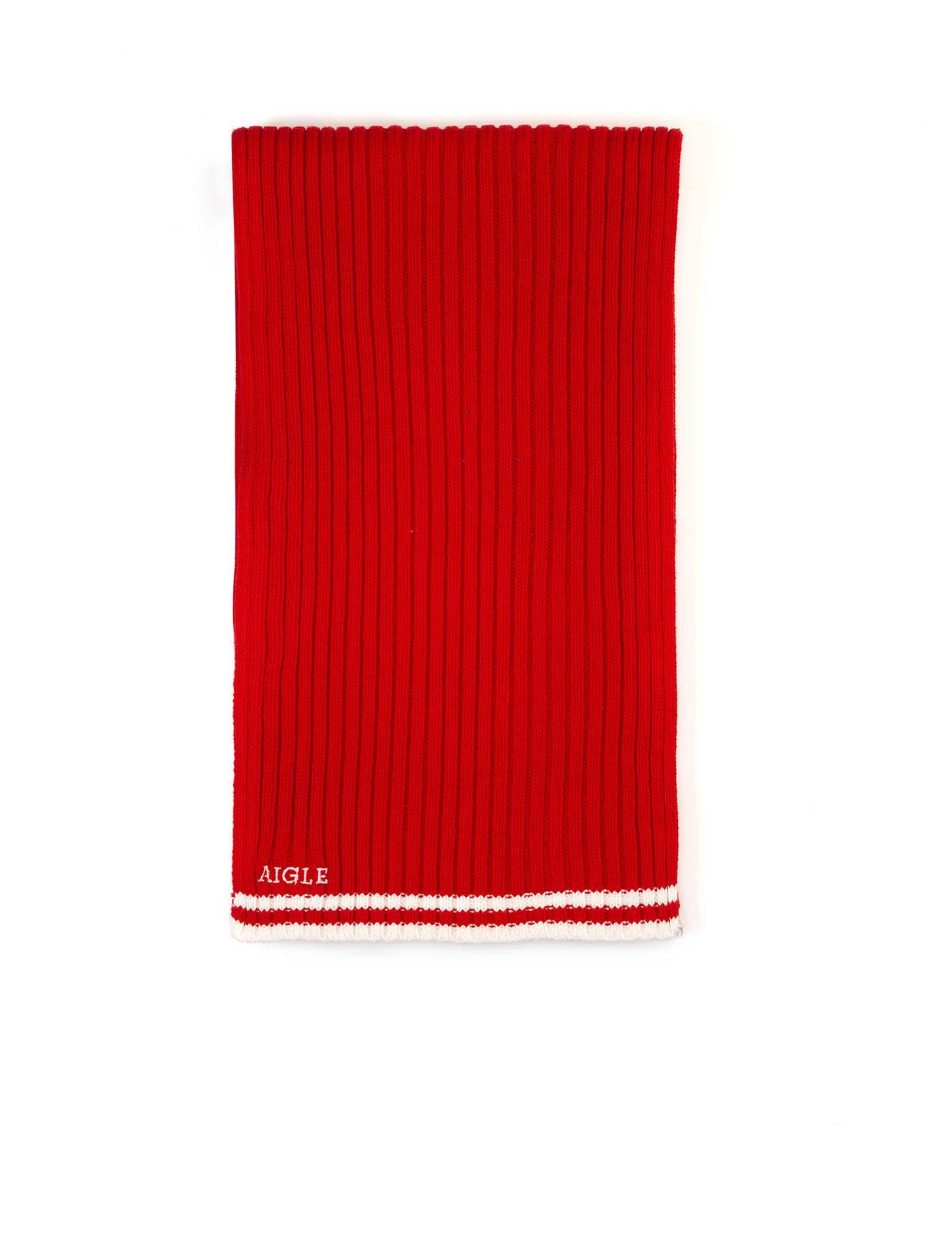 haute qualité choisissez le dégagement caractéristiques exceptionnelles FREGASCARF | Écharpe coton et acrylique homme rouge Homme ...