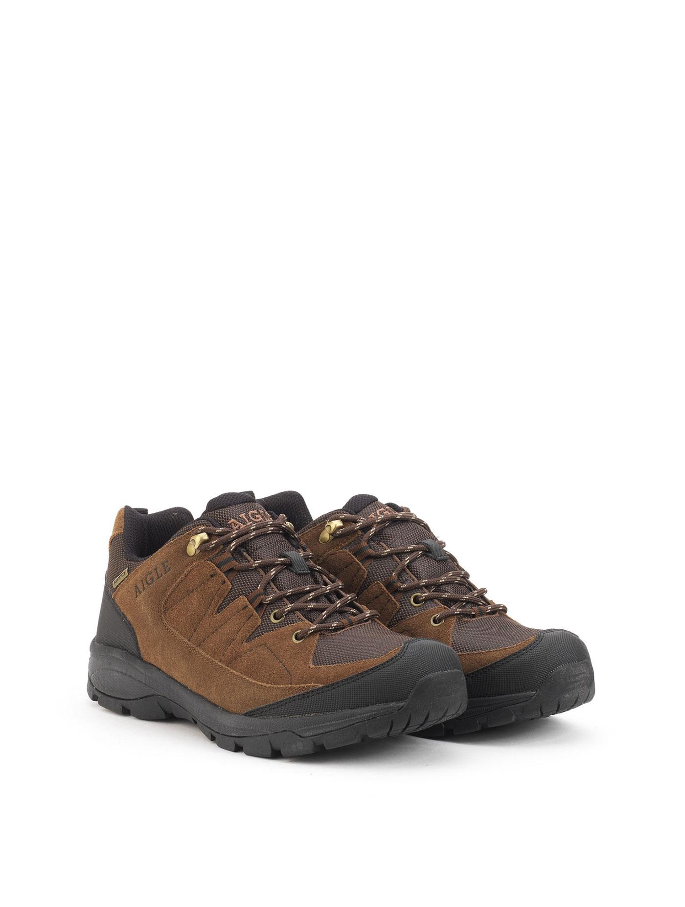 Aigle Terfalt Low, Chaussures de Travail Homme, Marron